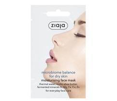 Увлажняющая маска для лица для сухой кожи ZIAJA Microbiome balance