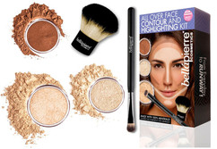 Набор для моделирования лица All Over Face Contour and Highlighting Kit BELLAPIERRE