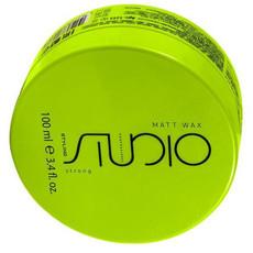 Матовый воск для укладки волос сильной фиксации «Matt Wax» Kapous Studio