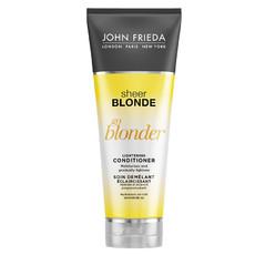 Кондиционер осветляющий для натуральных, мелированных и окрашенных волос Sheer Blonde Go Blonder JOHN FRIEDA