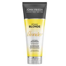 Шампунь осветляющий для натуральных, мелированных и окрашенных волос Sheer Blonde Go Blonder JOHN FRIEDA