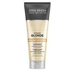 Увлажняющий активирующий шампунь для светлых волос Sheer Blonde JOHN FRIEDA