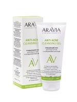 Очищающий гель для лица и тела с салициловой кислотой Anti-Acne Cleansing Gel, 200 мл ARAVIA Laboratories