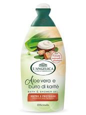 Гель для ванны и душа Алоз Вера и Карите питательный L' Angelica Officinalis