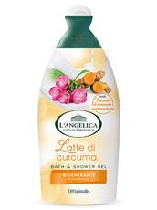 Гель для ванны и душа Молоко и Куркума восстанавливающий L' Angelica Officinalis