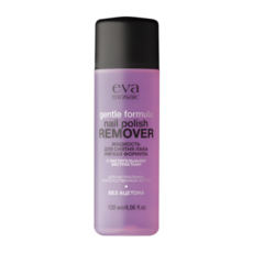 Жидкость для снятия лака Gentle Formula Nail Polish Remover мягкая формула EVA MOSAIC
