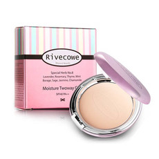 Пудра для лица Moisture Twoway Cake SPF 40 РА++ RIVECOWE Beyond Beauty