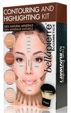 Универсальный набор для контурного моделирования лица Contouring & Highlighting Kit Universal BELLAPIERRE