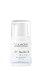 Регенерирующий крем против морщин на ночь, 55г Dermedic HYDRAIN3 HIALURO