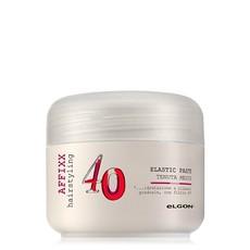 """Крем-блеск для волос средней фиксации с эффектом """"мокрых волос"""" Elgon AFFIXX hairstyling Shiny wet look craft elastic paste"""