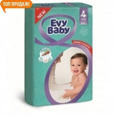 Подгузники детские Evy Baby Maxi 7-18кг, 64 шт