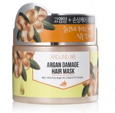 Маска для поврежденных волос Kwailnara Around Me Argan Damage Hair Mask WELCOS