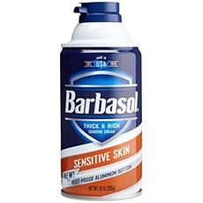 Крем-пена для бритья для чувствительной кожи BARBASOL Sensitive Skin Shaving Cream
