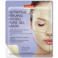 Гидрогелевая питательная укрепляющая маска для лица NUTRITIVE FIRMING HYDRO PURE GEL MASK PUREDERM