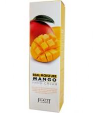 Крем для рук с экстрактом манго Jigott Real Moisture