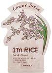 Тканевая маска для лица с экстрактом риса TonyMoly I'm Real Rice Mask Sheet Clear Skin (3шт)