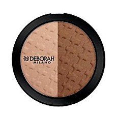 Набор для макияжа лица (бронзатор и хайлайтер) DH DUO CONTOURING PALETTE Deborah Milano