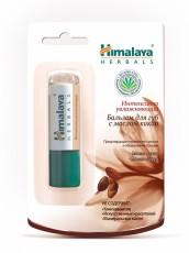 Бальзам для губ интенсивно увлажняющий с маслом какао Himalaya Herbals