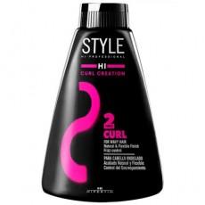 Средство для локонов Styling Curl Creation (2), 200млHI STYLE Hipertin