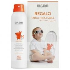 Детский влагостойкий солнцезащитный спрей SPF 50, 200мл LABORATORIOS BABE
