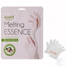 Смягчающая маска-перчатки для рук Koelf Melting Essence Hand Pack (3 пары)