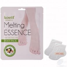 Смягчающая маска-носочки для ног Koelf Melting Essence Foot Pack (3 пары)