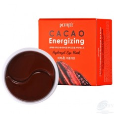 "Гидрогелевые маски для области вокруг глаз ""Какао"" Petitfee Cacao Energizing Hydrogel Eye Mask"
