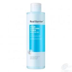 Тонер для кожи лица, увлажняющий и успокаивающий кожу Real Barrier Aqua Soothing Toner