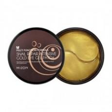 Гидрогелевые патчи для глаз Snail Repair Intensive Gold Eye Gel Patch MIZON