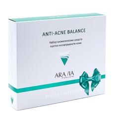 Набор против несовершенств кожи Anti-Acne Balance ARAVIA Professional