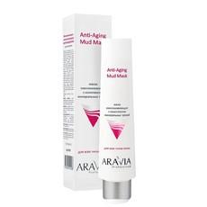 Маска омолаживающая с комплексом минеральных грязей Anti-Aging Mud Mask ARAVIA Professional