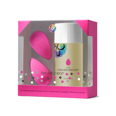 Набор beautyblender 2 спонжа beautyblender original и очищающий гель blendercleanser 150 мл