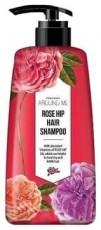 Шампунь для поврежденных волос Around Me Rose Hip Perfume Hair Shampoo WELCOS