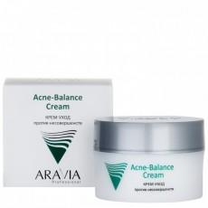 Крем-уход против несовершенств Acne-Balance Cream, 50 мл ARAVIA Professional