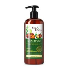 Шампунь для улучшения роста волос с маслом жожоба Sea&Energy