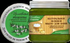 Натуральное «Зеленое мыло для бани» Целебные рецепты