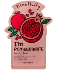 Тканевая маска для лица с гранатом Tony Moly I'm Real Pomegranate Mask Sheet (3шт)
