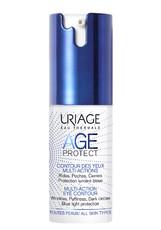 Крем для контура глаз AGE PROTECT EYE CONTOUR CREME MULTI-ACTIONS многофункциональный Uriage