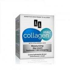 Антивозрастной дневной крем свежесть и пробуждение кожи, 50мл AA COLLAGEN HIAL+