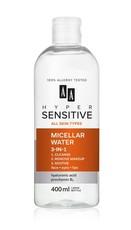 Успокаивающая мицеллярная вода 3 в 1 HYPERSENSITIVE AA