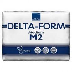 Подгузники одноразовые для взрослых, 20 шт { мин.заказ 2 } ABENA Delta-Form M2