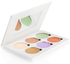 Кремовая палетка для корректирования лица Color Correcting Concealer Palette BELLAPIERRE