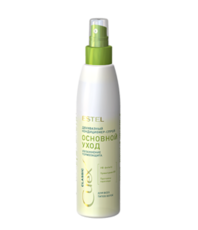 """Двухфазный кондиционер-спрей """"Основной уход"""" для всех типов волос CUREX CLASSIC Estel"""