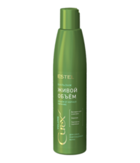 Бальзам для придания объема (для сухих и поврежденных волос) CUREX Volume