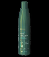 Шампунь для сухих, ослабленных и поврежденных волос CUREX Therapy