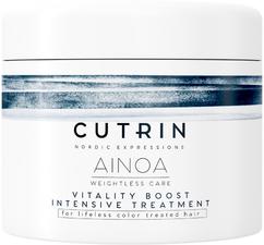 Маска для сияния и поддержания цвета волос CUTRIN AINOA VITALITY BOOST INTENSIVE TREATMENT