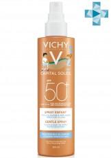 Детский спрей анти-песок SPF50+ для лица и тела VICHY CAPITAL SOLEIL