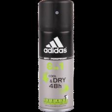 Дезодорант спрей мужской Adidas Cool&Dry 6в1