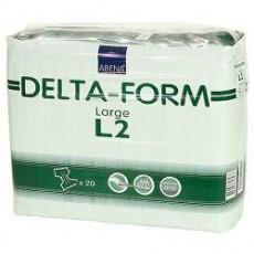 Подгузники одноразовые для взрослых, 20 шт { мин.заказ 2 } ABENA Delta-Form L2