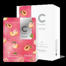 Питательная маска для лица с персиком, 20 мл FRUDIA (3шт)